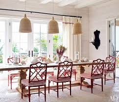 we think this red white dining room from elle decor is worthy of a