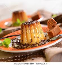 suce dans la cuisine panna cotta with caramel suce and chocolate flakes picture search