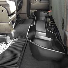 general motors under seat storage organizer black double cab