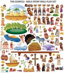 groopdealz kids bible story wall decal sets