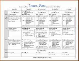 lesson plan template word doc pacq co weekly format
