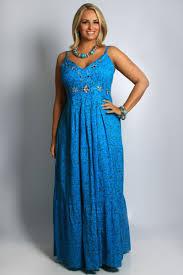 maxi dresses styles for plus size women 2016 western wear