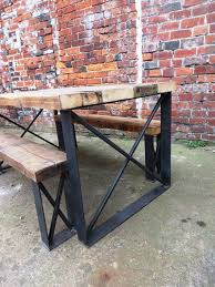 Reclaimed Wood And Metal Bookcase Best 25 Wood And Metal Ideas On Pinterest Wood And Metal