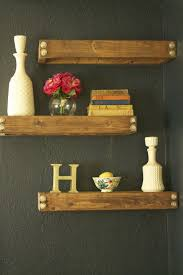 diy floating wall shelves easy