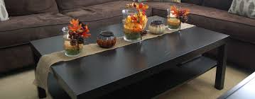 coffee table decorations furniture appealing black wooden coffee table decorations with