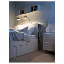 White Twin Bookcase Headboard by Bed Frame With Shelf Headboard Funky White Single Childrens Bed