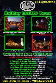 tanglewood christmas lights nc holiday lights tours silverfox limos