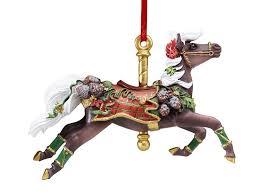 breyer tartan carousel ornament toys