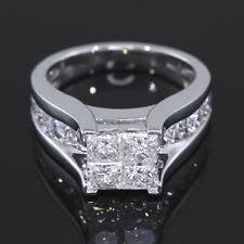 3 carat engagement rings 3 carat princess cut ring ebay
