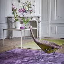 designers guild capisoli aubergine rug houseology