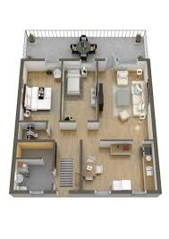 Simple 2 Bedroom House Plans by 40 More 2 Bedroom Home Floor Plans