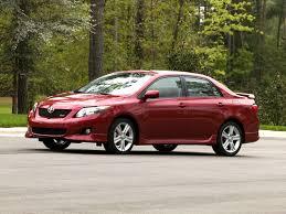 2009 toyota corolla xrs toyota sport sedan review automobile