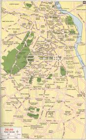 Delhi India Map by Delhimaps