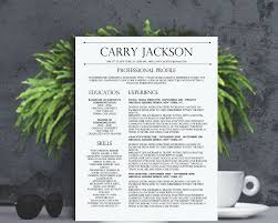 resume format for experienced marketing professionals featured resume templates 2 carry jackson resume template