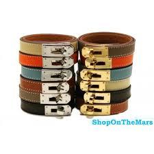 hermes bracelet leather images Hermes kelly double tour leather bracelet black with gold hw jpg