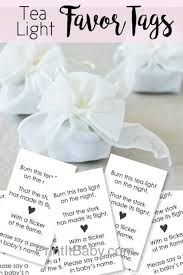 candle baby shower favors baby shower party favor the secret to giving the baby