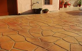 Wood Grain Stamped Concrete by Decorative Concrete Stencils Iron Blog