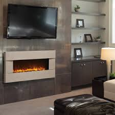 Recessed Electric Fireplace The Best Of Amantii 51 Electric Fireplace With Concrete Surrounds