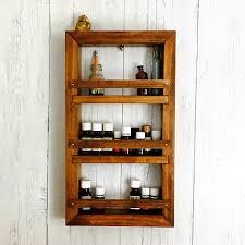Rustic Bathroom Medicine Cabinets by Essential Oil Shelf Medicine Cabinet Bathroom Cabinet Spice