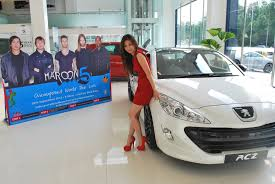 peugeot offers peugeot promotes maroon 5 concert offers backstage passes