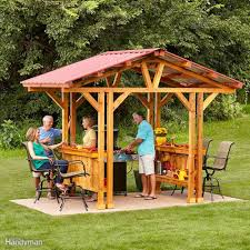 Outdoor Patio Grill Gazebo by 34 Awesome Outdoor Diy Projects To Get You Outside Grill Gazebo