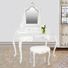 White Bedroom Dressing Tables Baroque French Provincial Dressing Table U0026 Mirror French Dressing