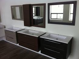 floating bathroom vanity with double bathroom mirror inside best