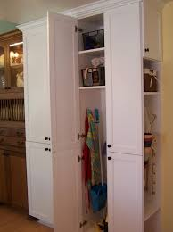 free standing broom closet u2014 steveb interior how to organize