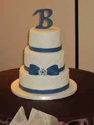 blue and white wedding cakes with bling diary of a cakeaholic