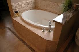 bathroom corner bathtub shower combo small bathroom japanese