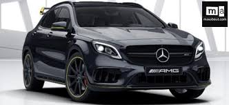 mercedes gla amg mercedes gla 45 amg price specs review pics mileage in india