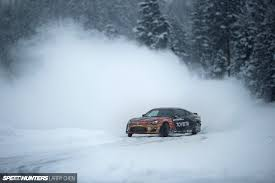 subaru drift snow drifting on planet hoth speedhunters
