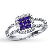 purple diamond engagement rings purple diamond ring 1 4 ct tw cut 10k white gold