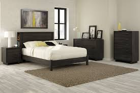 Bedroom With Oak Furniture Amazon Com South Shore Fynn Collection Platform Bed Full Gray