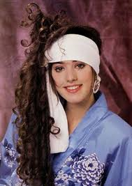 80s hair styles with scarves vintage everyday 40 funny yearbook photos from the 1980s and