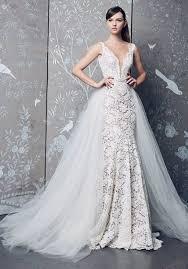 lace mermaid wedding dress sleeveless v neck fully lace mermaid wedding dress kleinfeld bridal