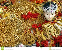 golden ornaments stock photo image of artifical festivals 13650612