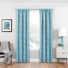 Teal Drapes Curtains Eclipse Curtains U0026 Drapes Window Treatments The Home Depot
