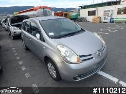 nissan japan used nissan note from japan car exporter 1110212 giveucar