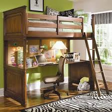 Wood Loft Bed Designs by Bed With Desk Ne Kids Highlands Full Loft Bed With Desk In