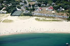 lighthouse beach at chatham cape cod during a great white shark