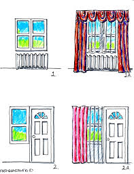 How To Hang Curtain Swags by Hanging Valances Curtains And Drapes On Different Kinds Of