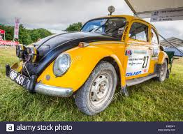 yellow volkswagen beetle royalty free 1960 volkswagen beetle rally car of bob beales in the paddock at