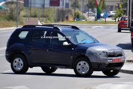 renault duster 2014 white spied dacia duster small suv prepares for its first botox treatment