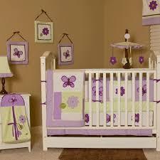 Lavender Butterfly Crib Bedding Pam Grace Creations Lavender Butterfly Crib Bedding Collection