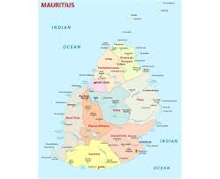 Diego Garcia Map Maps Of Mauritius Detailed Map Of Mauritius In English Tourist