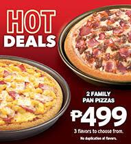 pizza hut favorites at value deals 2 family