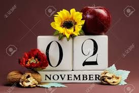 november seasonal flowers save the date seasonal individual calendar for november 2 with