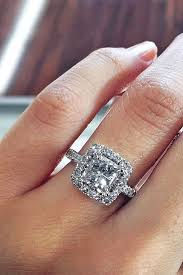 halo engagements rings images 24 breathtaking princess cut engagement rings halo engagement jpg