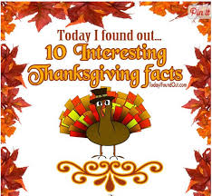 thanksgiving facts roundup